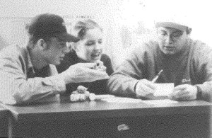 Jason (far right) in the 1994 MA yearbook