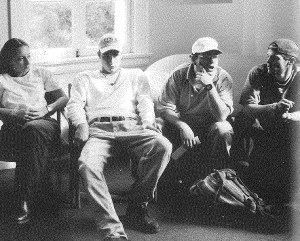 Jason (second from right) in the 1994 MA yearbook